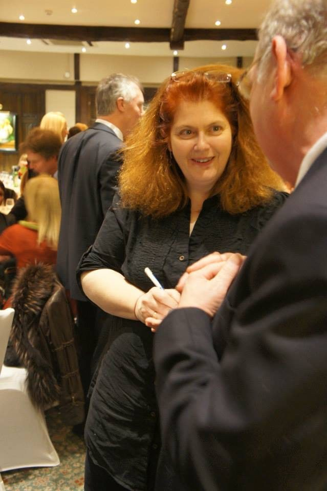 Sally Wainwright at Holdsworth House