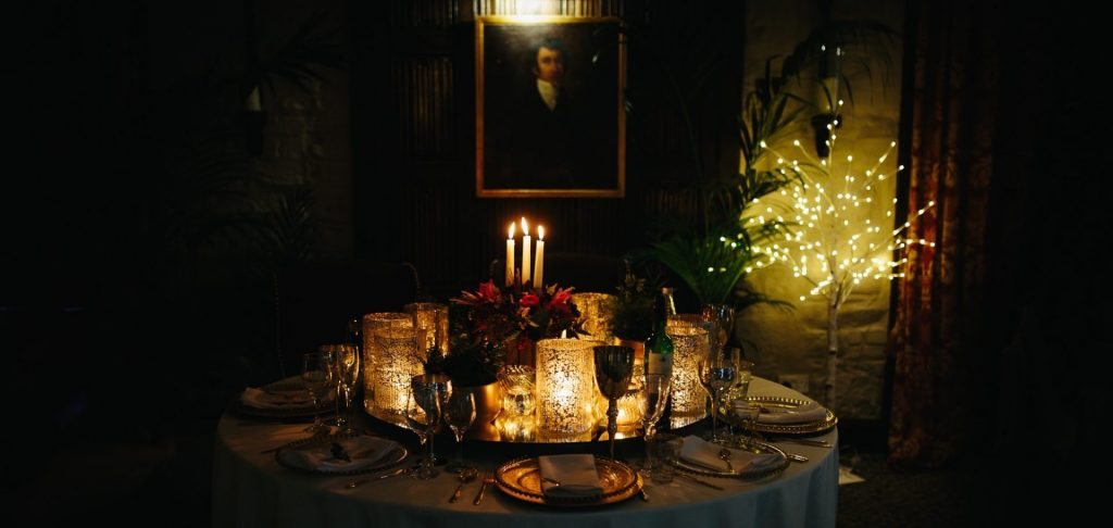 Party venu Halifax Stuart Room at Holdsworth House