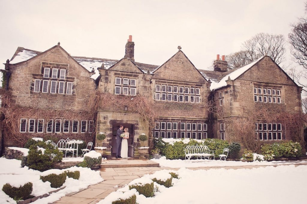 winter wedding venue West Yorkshire Holdsworth House