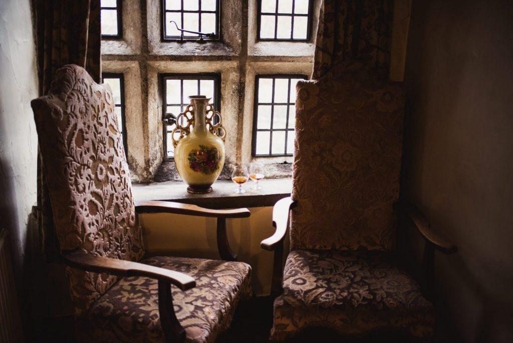 Holdsworth House hotel mullioned window