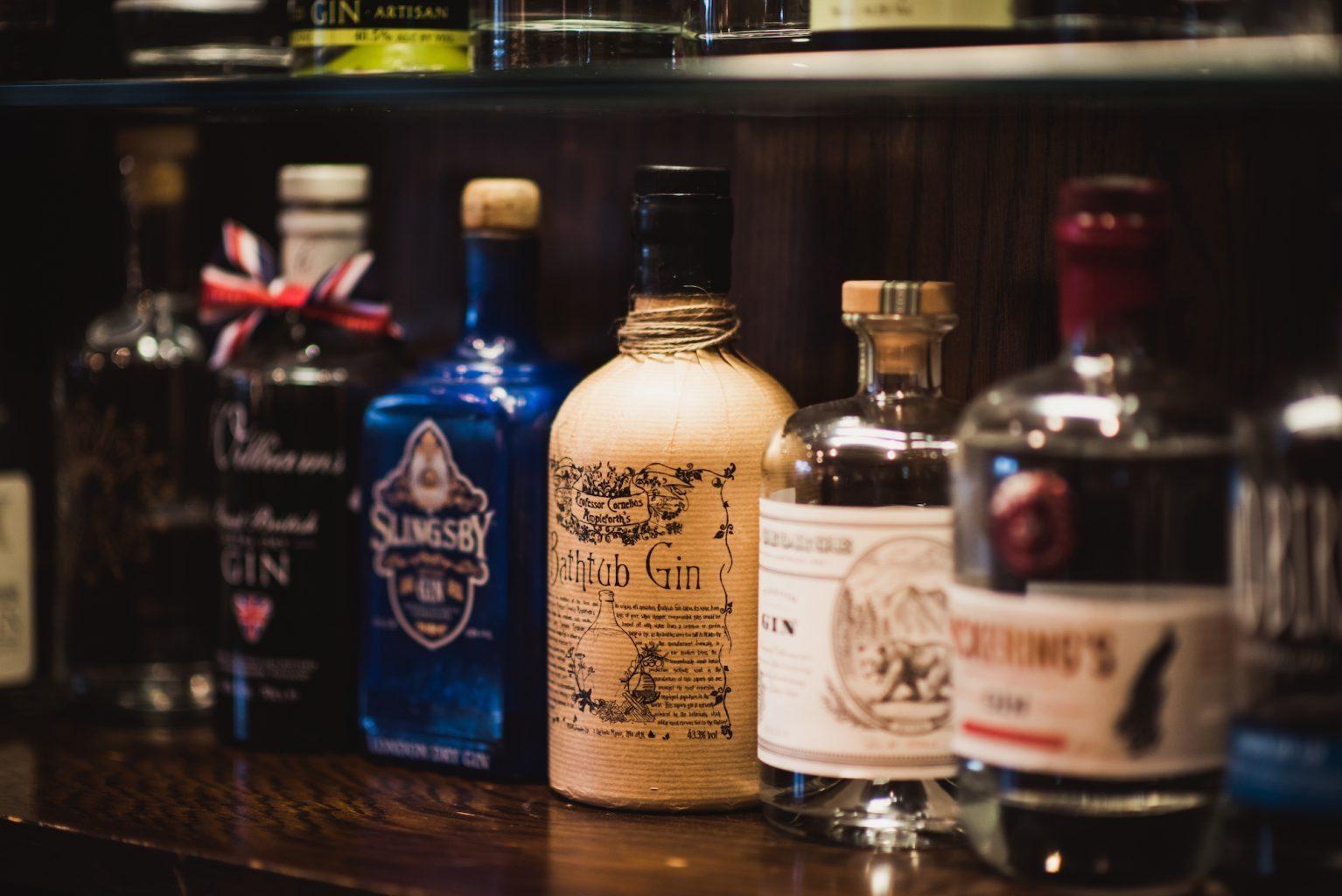 gin bar Yorkshire