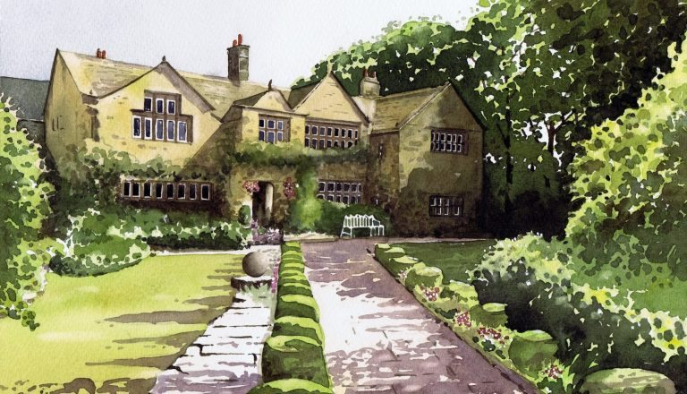 Holdsworth House picture print by Paul Marlor
