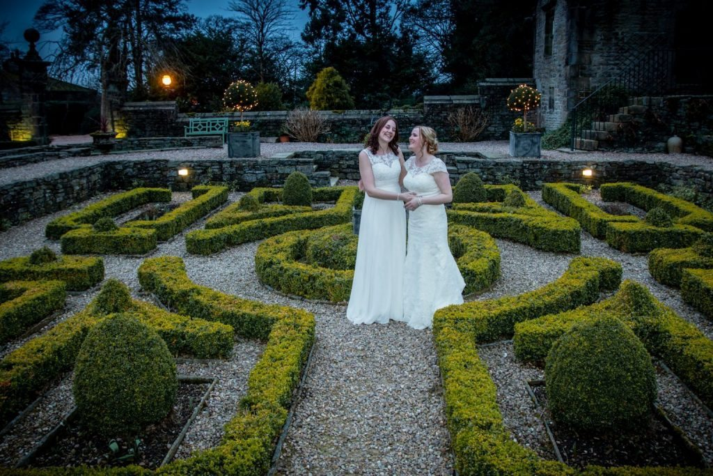 Gay wedding venue Yorkshire Holdsworth House
