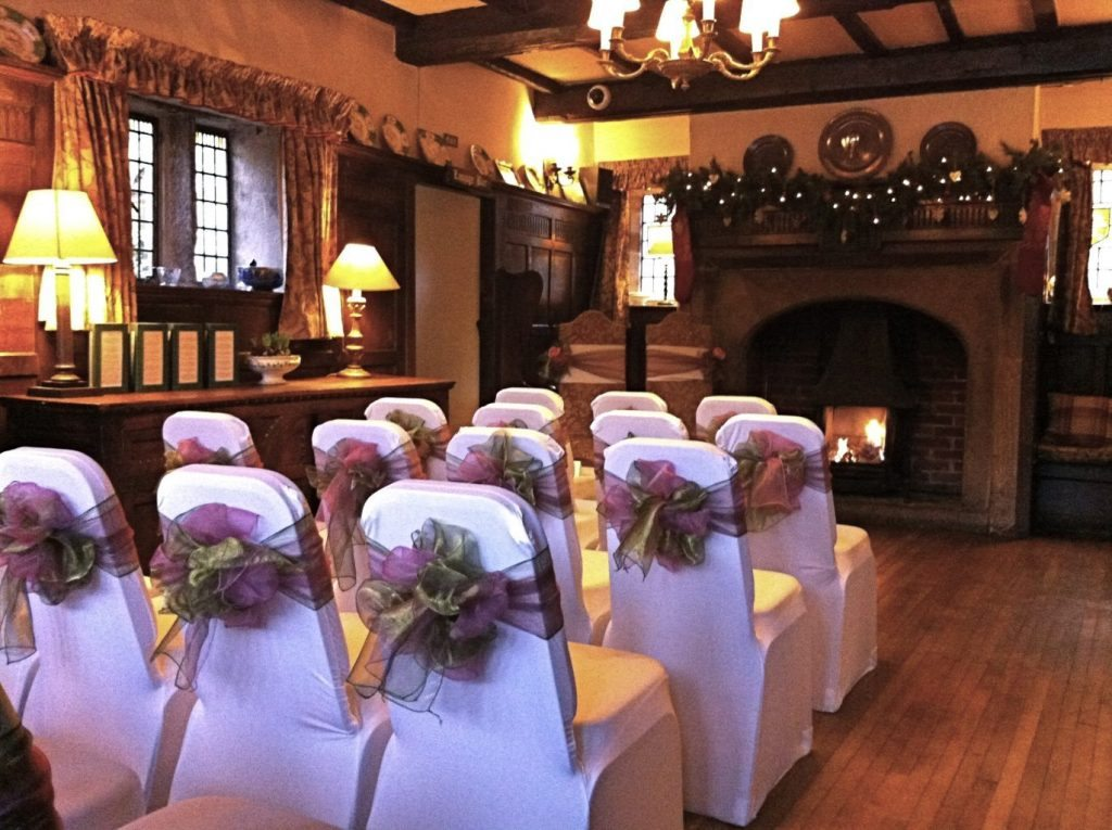 winter marriage Holdsworth House