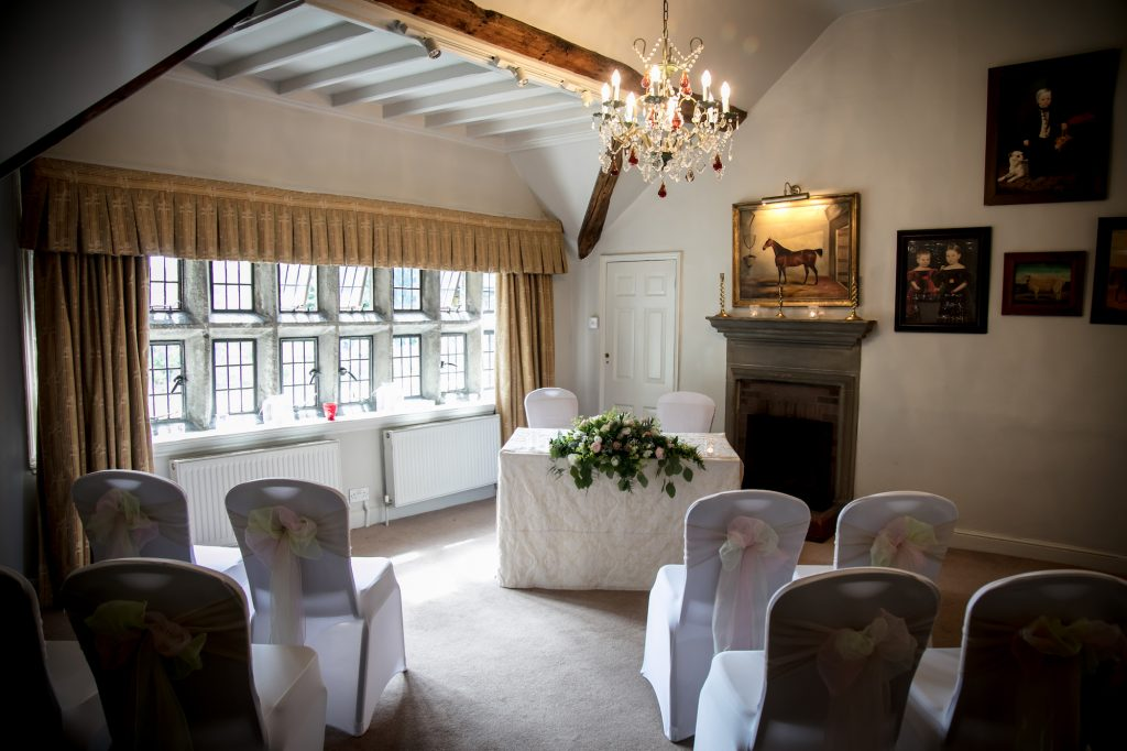 Holdsworth House small wedding Ayrton Room