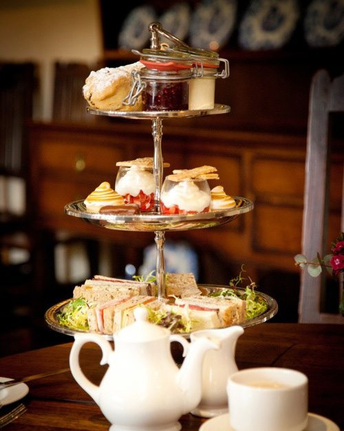 afternoon tea West Yorkshire