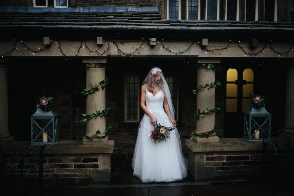 Tim Dunk Photography exclusive use wedding at Holdsworth House courtyard
