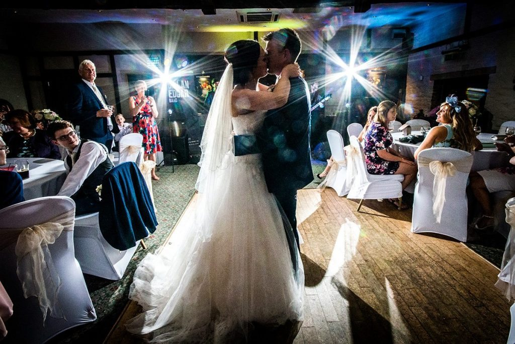 First dance wedding venue Holdsworth House West Yorkshire