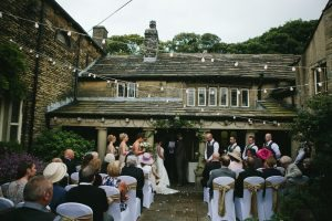 Tim Dunk Photography outdoor wedding at Holdsworth House
