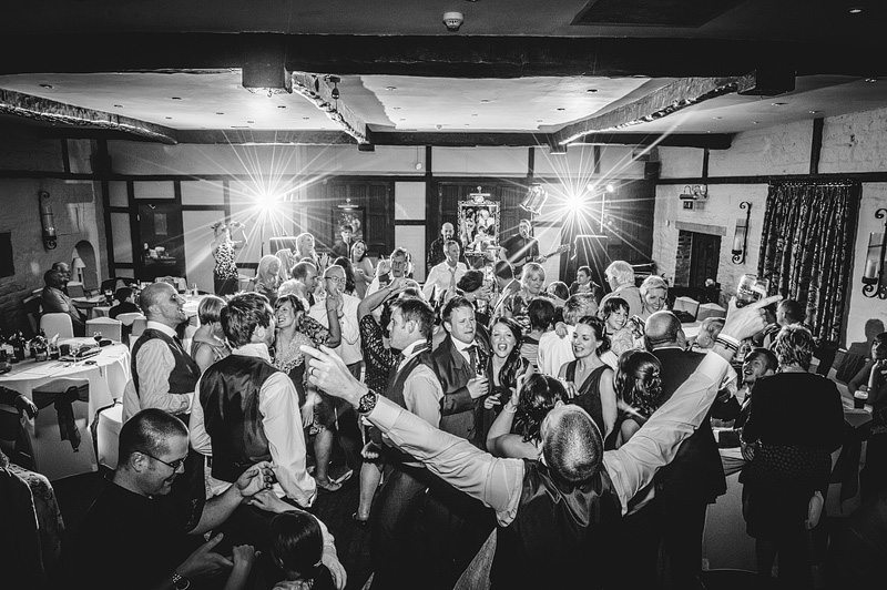 Wedding disco Holdsworth House