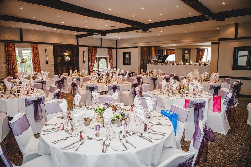 Large wedding venue Yorkshire Holdsworth House Stuart Room
