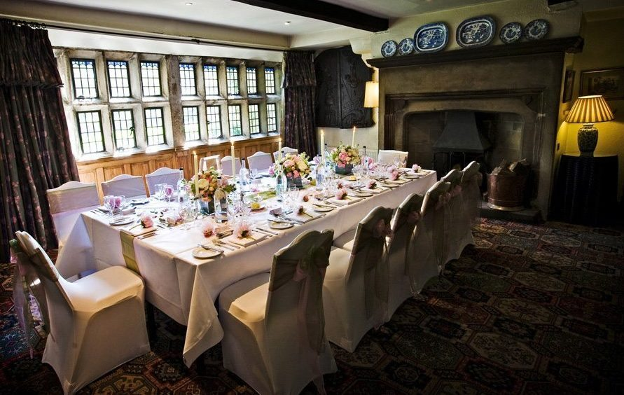 Small wedding venue Yorkshire Holdsworth House