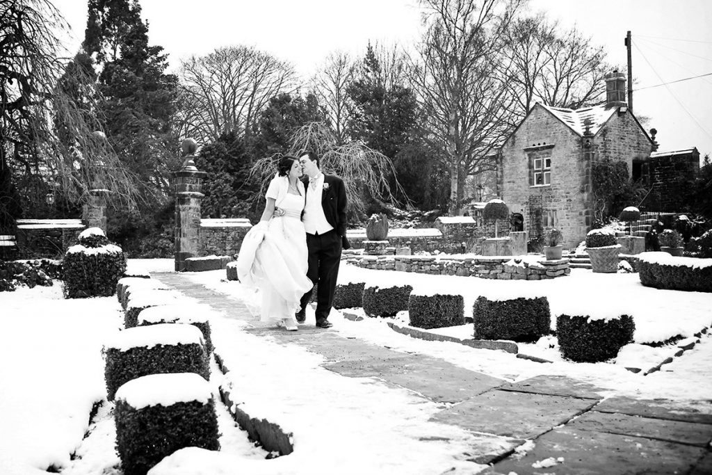winter wedding venue Yorkshire Holdsworth House