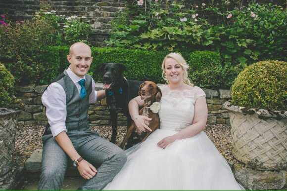 dog friendly wedding Yorkshire Holdsworth House