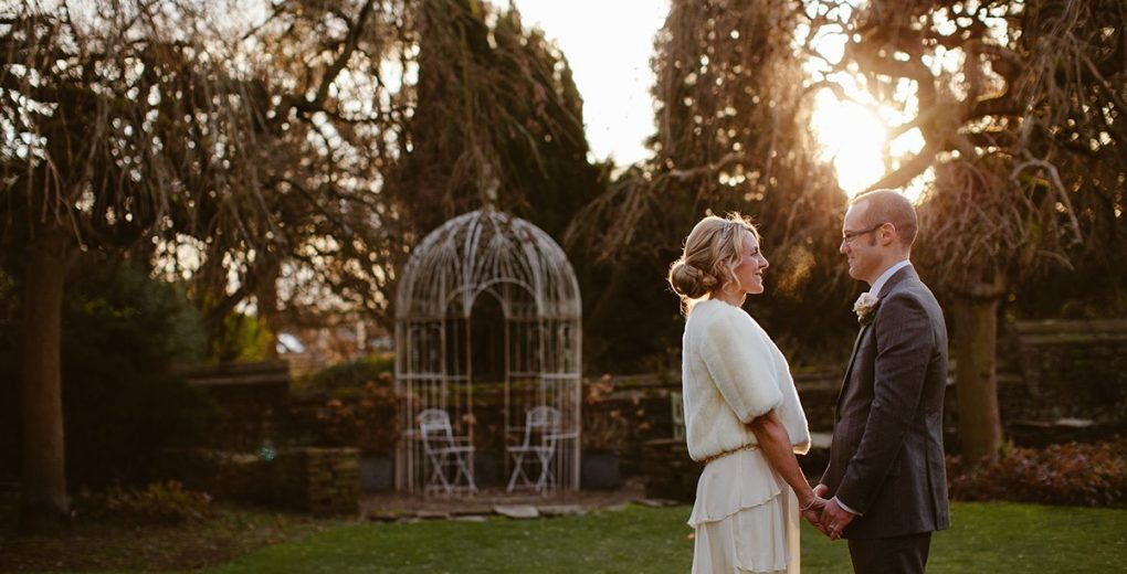 Winter wedding at Holdsworth House West Yorkshire