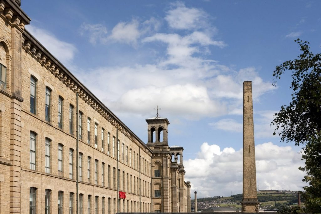Salts Mill, Saltaire. Incredible history and David Hockney Gallery