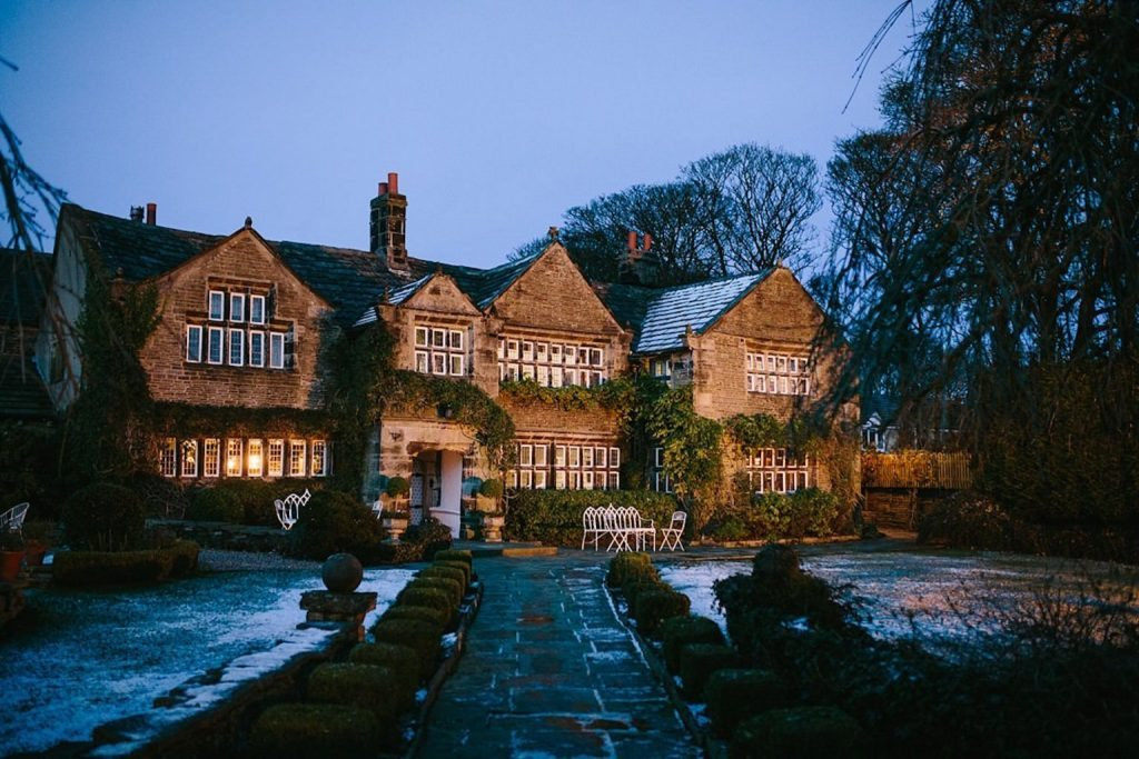 christmas wedding offer winter wedding Holdworth House