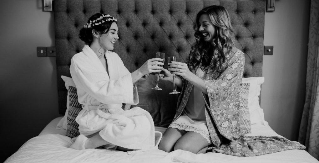 Bridal treats Bride and Bridesmaid at Holdsworth House
