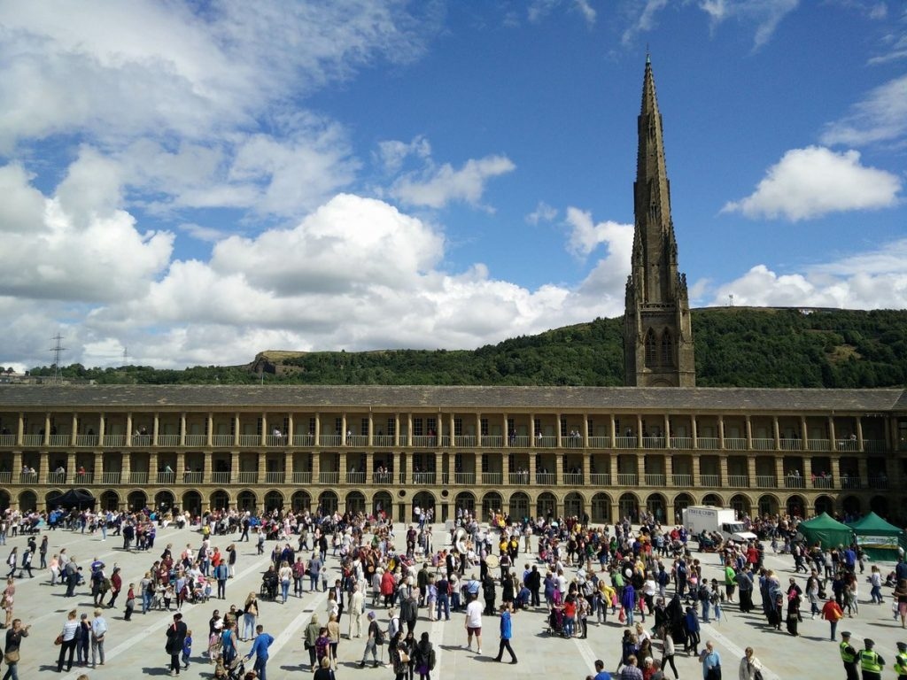 Visit Halifax Piece Hall – Stay at Holdsworth House