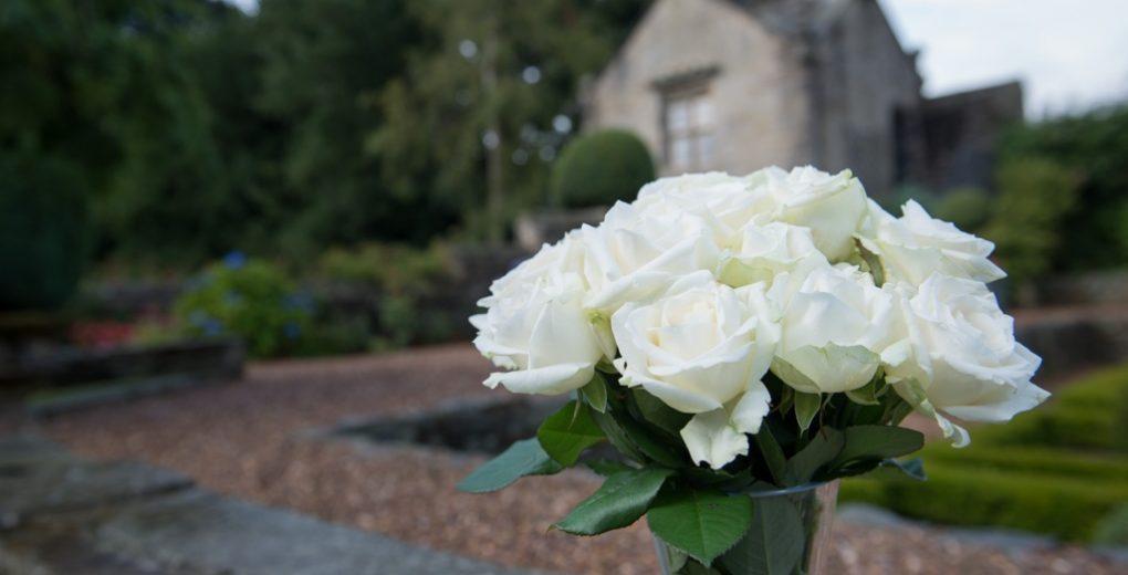 Wedding fair roses