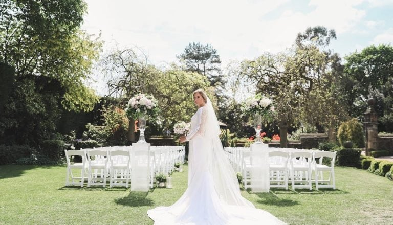 Outdoor wedding Cream photography