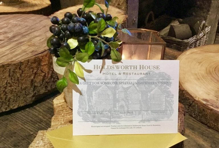Gift voucher Holdsworth House