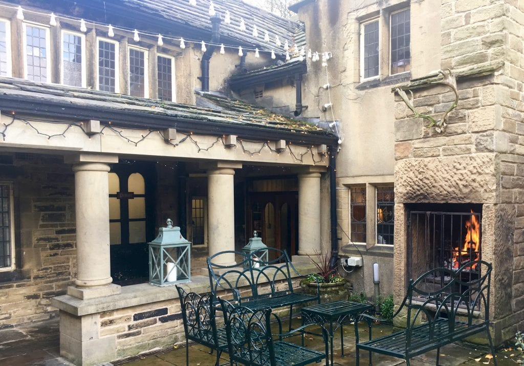 Winter Courtyard Holdsworth House