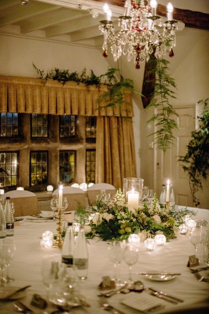 Winter wedding venue Yorkshire