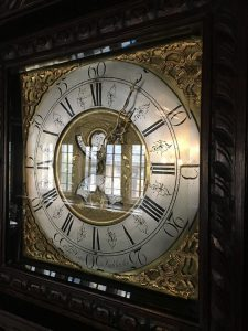 The Lister clock at Shibden Hall