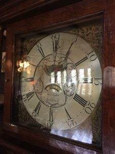 The Lister clock at Holdsworth House