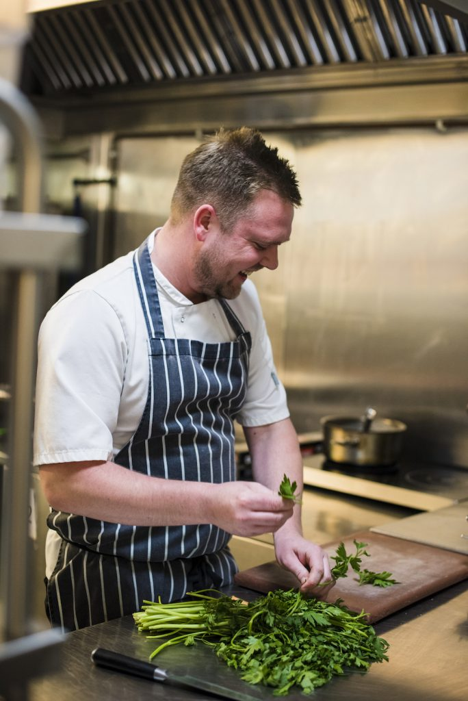 head chef Holdsworth House