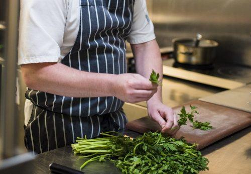head chef Holdsworth House