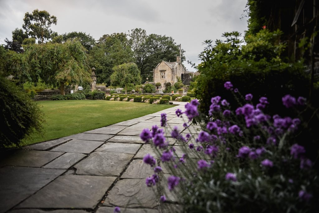 The gardens at Holdsworth House