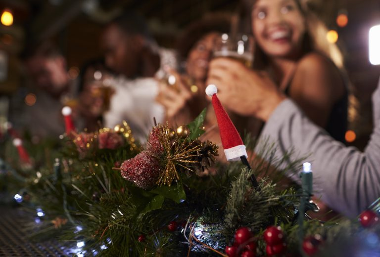 Christmas party at Holdsworth House