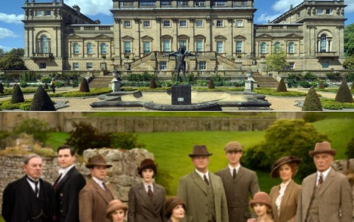 Downton Abbey Film location Harewood House Yorkshire