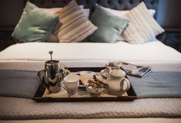 room service available at holdsworth house hotel