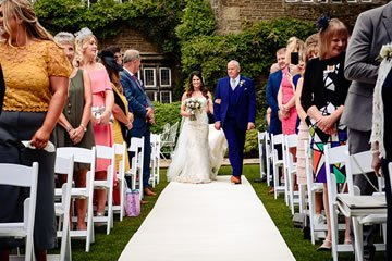weddings and ceremonies outside