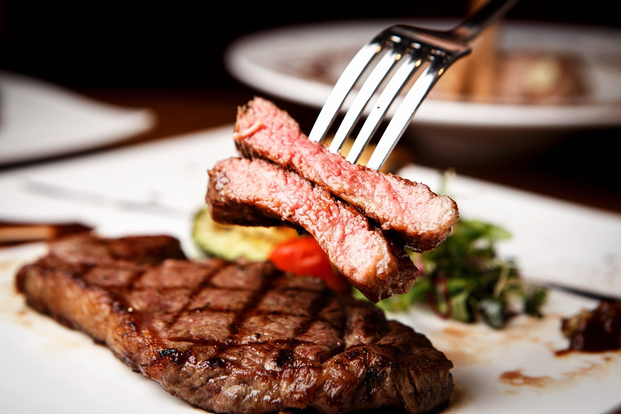 Steak sirloin Holdsworth House