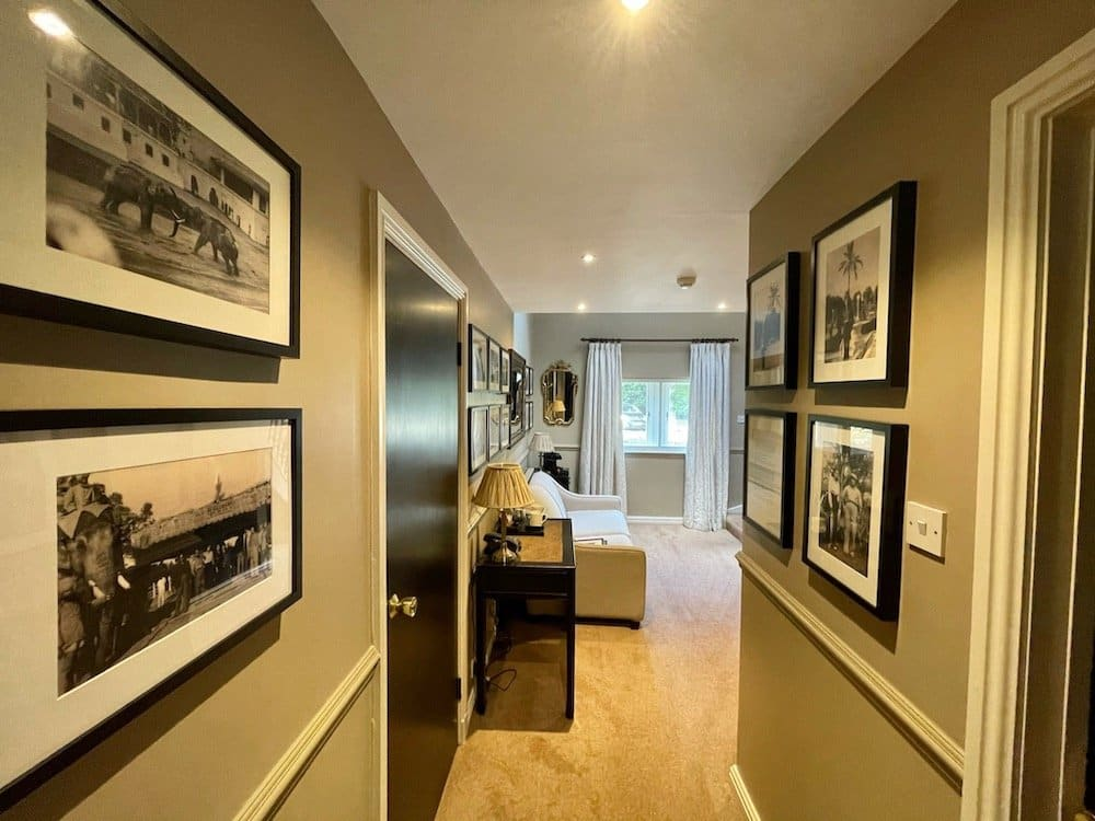 The Baroda Suite ground floor lounge