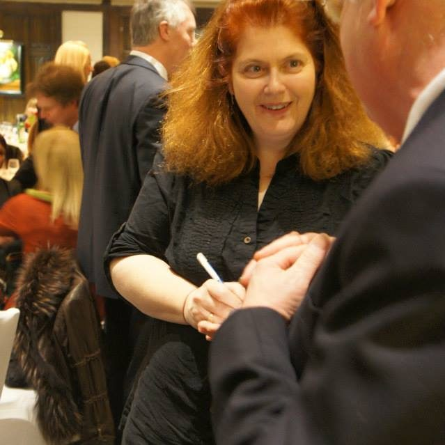 Sally Wainwright at Holdsworth House Hotel