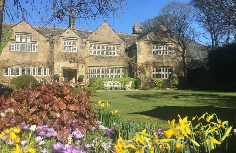 Spring at Holdsworth House