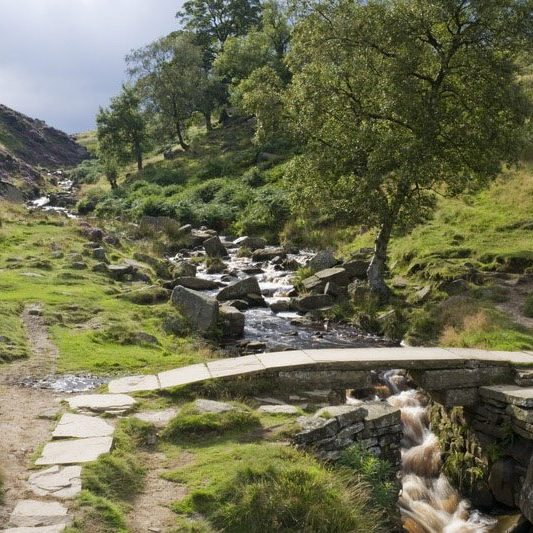 Bronte Waterfalls near Haworth