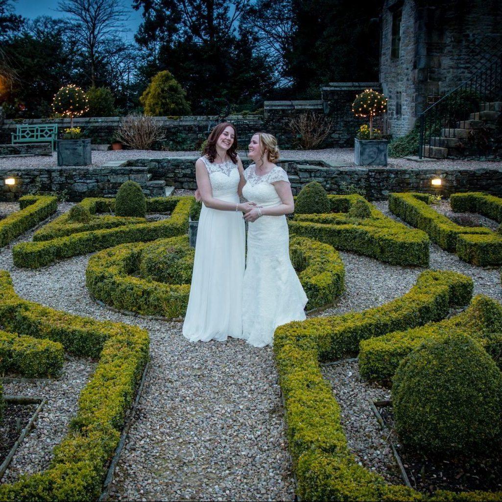 Gay wedding venue Yorkshire Holdsworth House