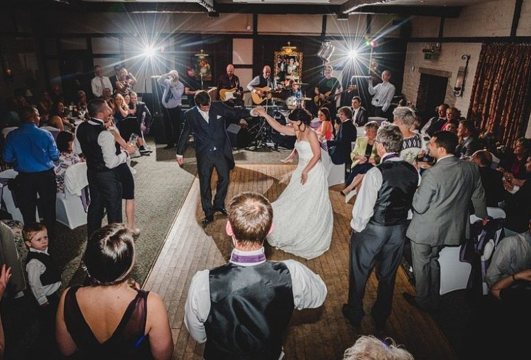 First Dance wedding at Holdsworth House