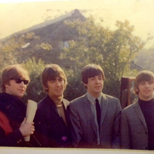The Beatles at Holdsworth House